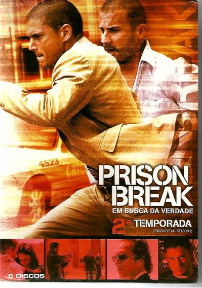 Dvd Prison Break - 2ª Temporada - 6 Discos - Lacrado