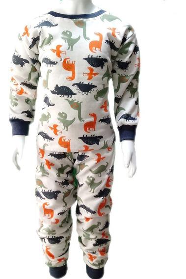 Pijama Infantil Flanelado Tam 2/3/4/6 Múltiplas Estampas