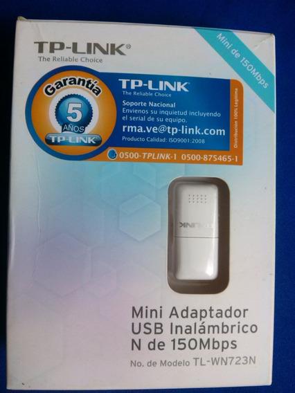 Mini Adaptador Usb Inalambrico N De 150mbps Tp-link