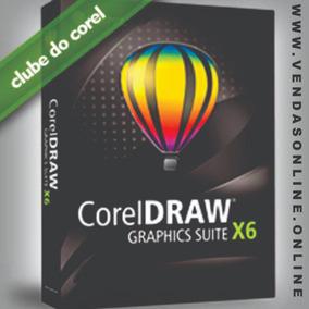 Corel Draw X6- 32bits Ou 64bits (chave Permanente)