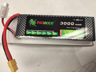 Power Lipo Battery 5000ma 40c 6s Envio Gratis!