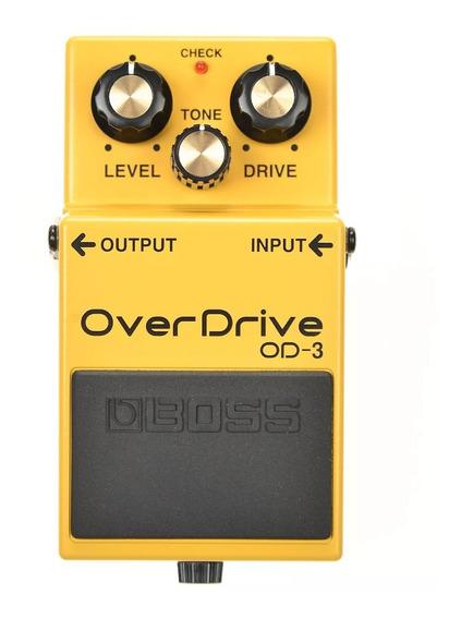 Pedal De Guitarra Boss Overdrive Od3 Novo + Nf E Garantia!