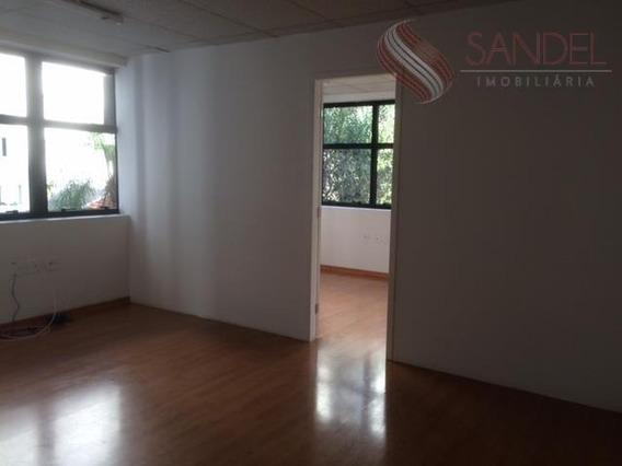 Ótima Sala Comercial Com 40m², 2 Banheiros, Copa E Ar Condicionado (s) - Sa0016