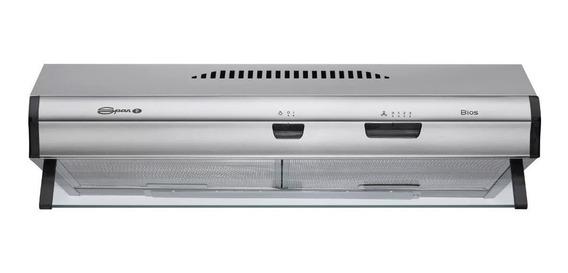 Extractor purificador cocina Spar Bios ac. inox. 600mm x 150mm x 525mm acero 220V