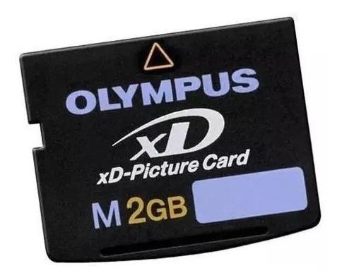 Cartão De Memória Olympus Xd Original 2gb