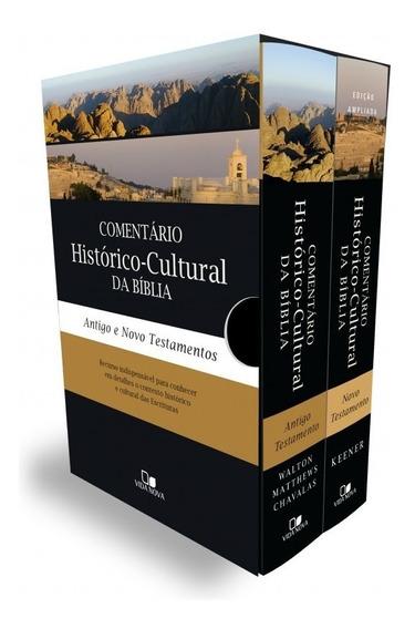 Box Comentário Histórico-cultural Da Bíblia (at E Nt) Caixa
