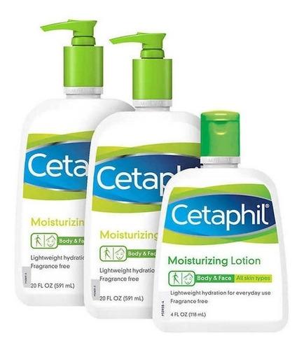 Cetaphil Moisturizing Lotion 44oz Eczema Psoriasis Piel Seca