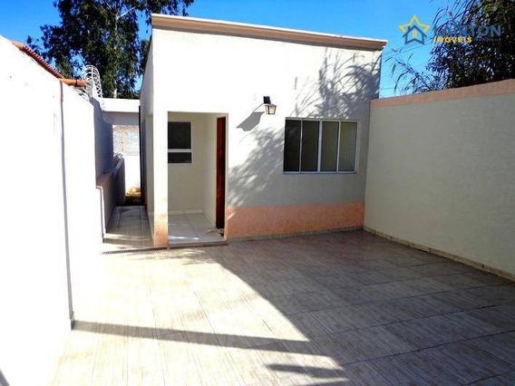 Casa Com 2 Dormitórios À Venda, 51 M² Por R$ 200.mil - Jardim Santo Antônio - Atibaia Sp - Ca1088