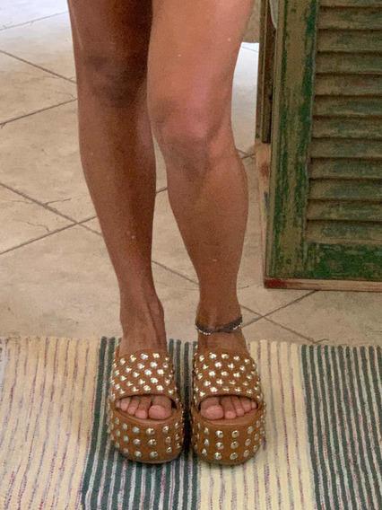 Sandalias Suecos Ricky Sarkany Nro 37 Modelo Ann Liquido