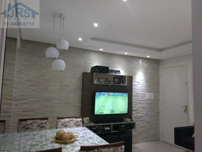 Apartamento Com 2 Dormitórios À Venda, 46 M² Por R$ 205.000 - Jardim São Luiz - Jandira/sp - Ap2183