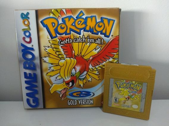 Jogo Pokémon Versão Gold Game Boy