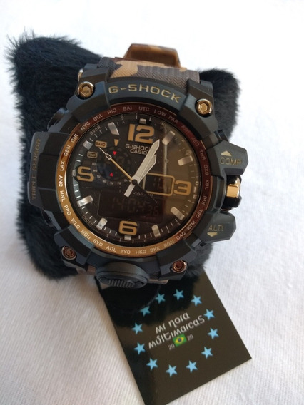 Relógio Camuflado