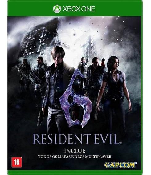 Resident Evil 6 Com Dlcs - Xbox One - Midia Física - Lacrado