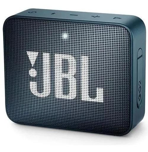 Speaker Bluetooth Jbl Go2 Original Azul Escuro