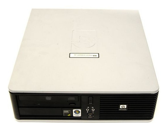 Cpu Hp Dc5850, Amd Dual Core X64, 2gb Memoria Ram, 80gb Hd