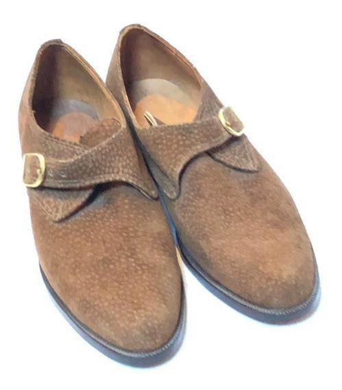 Mocasines Carpincho Zapatos - S/ Estrenar T°41.5 Mb