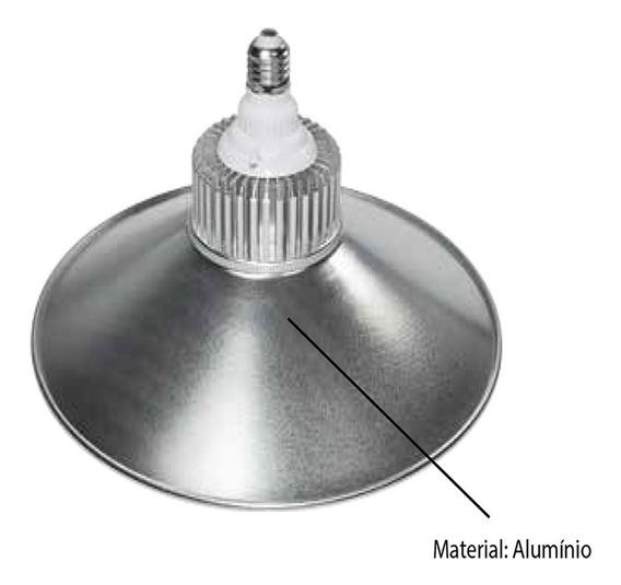 Luminária De Led P/ Galpao Industrial 70w 5250 Lm Bocal E40
