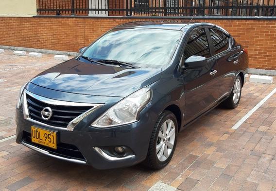 Nissan Versa Advance 2015 Full Equipo - Placas Bogotá