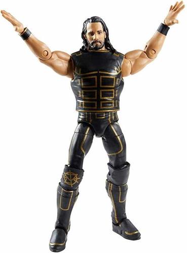 Imagen 1 de 5 de Figura Wwe Mattel Elite Seth Rollins El Mesías Shield Raw