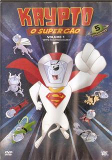 Dvd Krypto - O Super Cão - Usado***