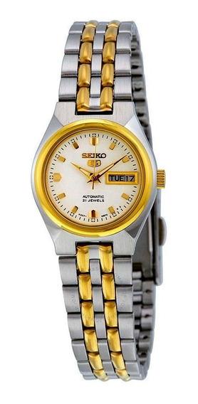 Relógio Seiko 5 Feminino Automático Symk44b1 B1sk 23,55mm (