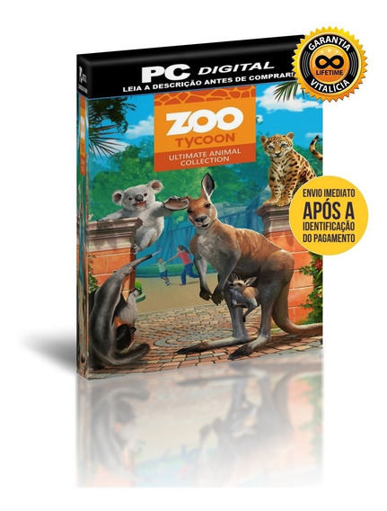 Zoo Tycoon Ultimate Animal Collection - Pc Digital + Brinde