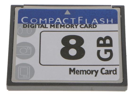 Cartão Memória Digital 8gb Cf Para Câmeras Celulares Gps