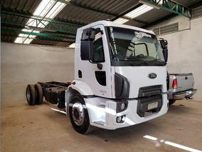 Ford Cargo 1519 4x2 Ano 2012/2013 No Chassi Reduzido