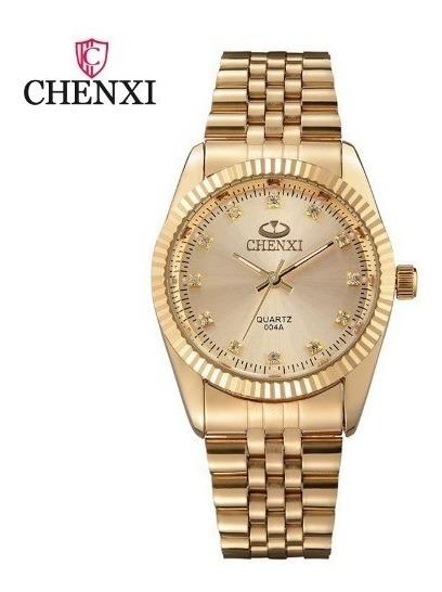 Relógio Analógico Chenxi Fundo Branco