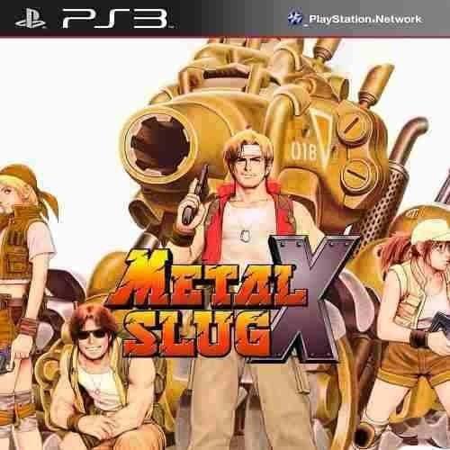 Metal Slug X - Classic Ps1 - Jogos Ps3 Play 3