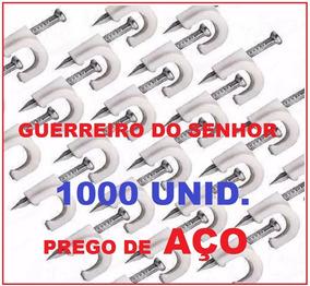 Grampo Rg59 Miguelão 5m Fixa Cabo Fio Coaxial 1000 Promoção