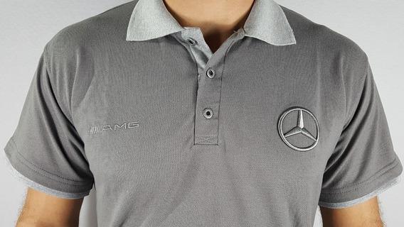 Polo Cinza Chumbo - Mercedes Benz Amg