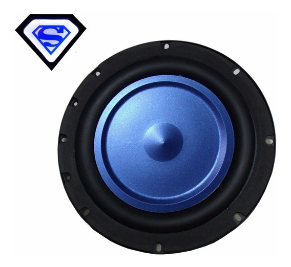 Subwoofer 8 Sony 200w Micro System Home Theater Sub Grave