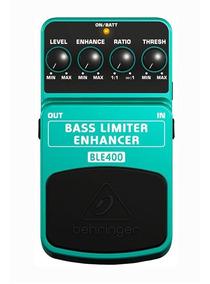Pedal Para Baixo Behringer Ble400 Bass Limiter Enhancer