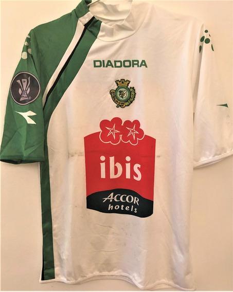Camisa Vitoria De Setubal Usada Jogo Taça Uefa 2005/06