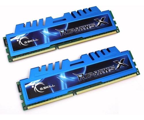 Imagen 1 de 1 de Memoria G.skill Ripjaws X Series 8gb (2x4gb) Ddr3 2400mhz