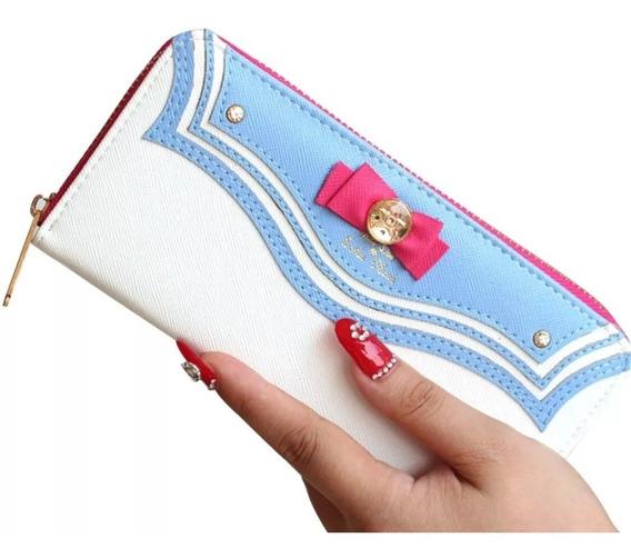 Cartera Monedero Sailor Moon Bolsa Envío Gratis Dhl