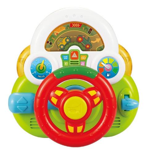 Mini Volante De Juguete Con Luz Y Sonido Interactivo 6755