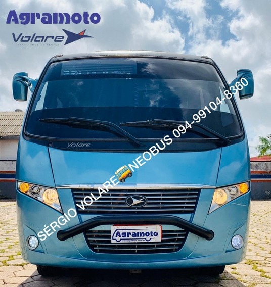 Micro Ônibus Volare W9 Fly Executivo Sem Arla Cor Azul Ano