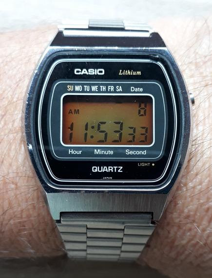 Relógio Casio 111-qs34 Raríssimo 100% Made In Japan