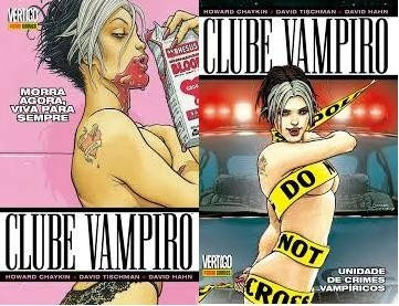 Clube Vampiro Vol.1 E 2 De Howard Chaykin Ed. Panini