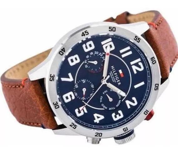 Reloj Para Hombre, Tommy Hilfiger Original De Cuarzo