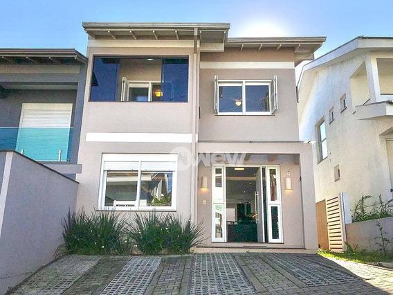 Casa Com 3 Dormitórios À Venda, 119 M² Por R$ 600.000,00 - Rondônia - Novo Hamburgo/rs - Ca3417