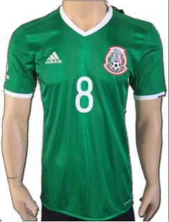 Jersey Mexico 2016 Copa America Lozano Con Número Original