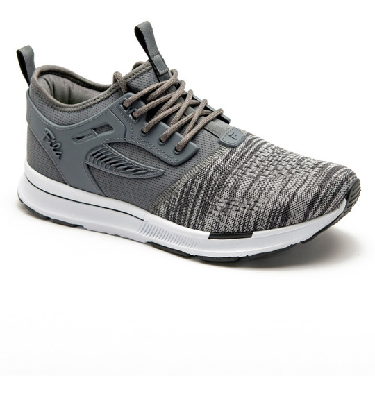 Zapatillas Fila Overpass Hit Lifestyle Moda Originales Gris