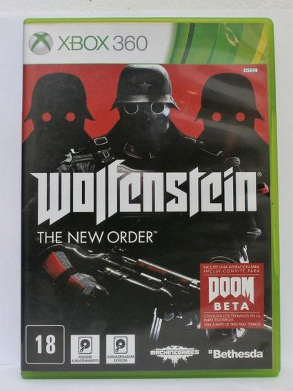 Wolfenstein The New Order Jogo Xbox 360 Usado Mídia Física