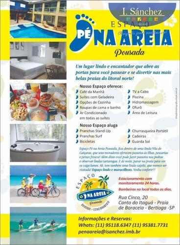 Pousada Para Temporada Em Bertioga, Canto Do Itaguá, 8 Suítes, 9 Banheiros, 8 Vagas - S5 Pousad_1-1824601