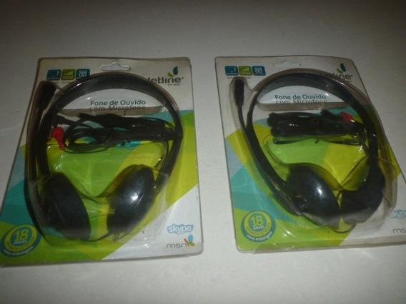 Fone De Ouvidos Com Microfone Jetline Mic5