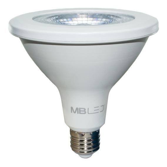 40 Lâmpadas Led Par38 18w E27 Smd 3000k Inmetro Luz Quente