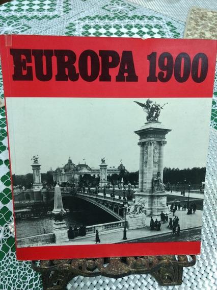 Livro Europa 1900 Autografado